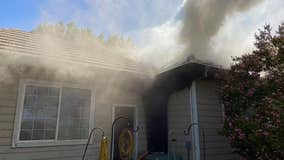 Attic fire causes estimated $75K in damage to home in Brentwood