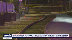 2 killed, 4 others injured in late night shooting in Sacramento