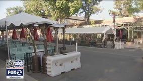 Restaurant owners in Pleasanton not happy parklet program could end