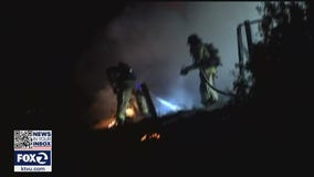 Fire officials say majority of fires in Contra Costa over July 4 sparked by illegal fireworks