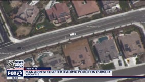 Man arrested after leading Vacaville police on pursuit in stolen U-Haul van