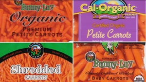 Several brands of carrots recalled due to bacteria