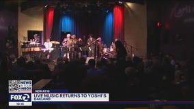 Live music returns to Yoshi's
