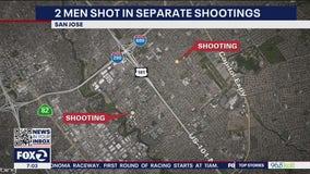 San Jose police investigating two separate shootings