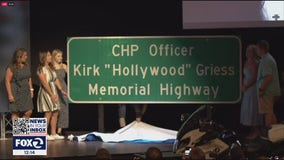 Solano CHP honors fallen officer with freeway dedication
