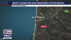 Body of deceased man washes ashore at San Gregorio State Beach in San Mateo County