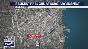 San Francisco resident shoots at burglary suspect breaking into his apartment