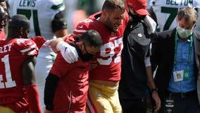 Nick Bosa says he'll be ready for 49ers' season opener, still needs vaccine