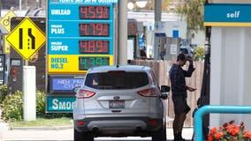Average price of gas rises 2 cents per gallon to $3.22; Bay Area average is $4.39