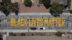 Two arrested after Santa Cruz Black Lives Matter mural vandalized