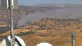 Evacuations ordered, structures threatened by Vacaville brush fire