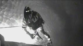 U.S. Coast Guard rescues man from overturned boat near Tiburon