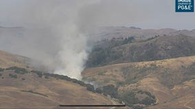 Crews containing 32-acre vegetation fire in rural Marin County