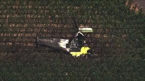3 killed when small plane crashes into Napa County vineyard