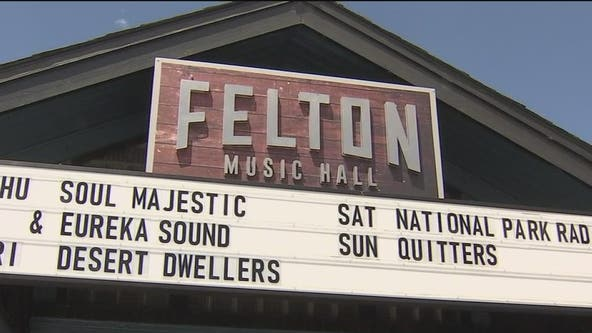 Felton Music Hall forced to close again one month after reopening due to COVID outbreak