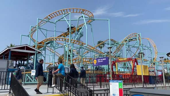 Santa Cruz boardwalk power outage leaves guests stuck on rides