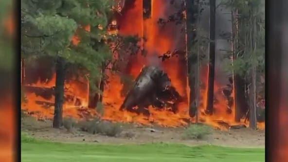 Truckee plane crash kills all 4 aboard near Tahoe airport