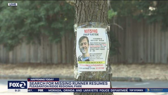 Search for missing runner Philip Kreycik continues