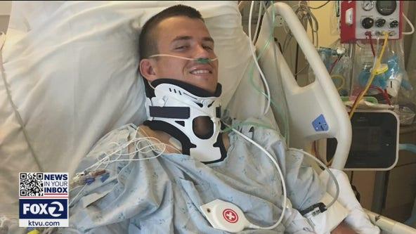Quadriplegic former Cal rugby star finds true calling as motivational speaker