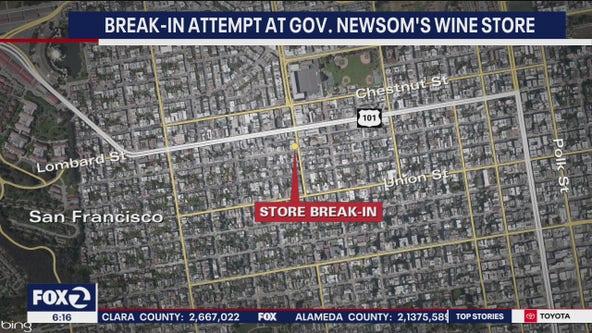 Gov. Newsom's San Francisco wine store broken into again
