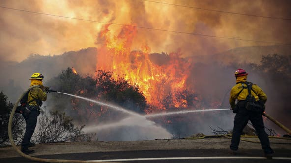 New technology complimenting firefighting efforts to contain and prevent California wildfires