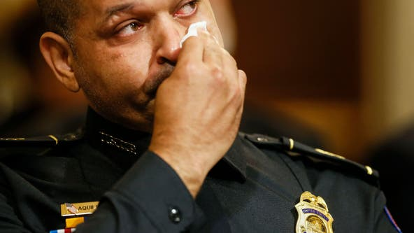 Police who defended Capitol detail violence, injuries at riot probe's 1st hearing