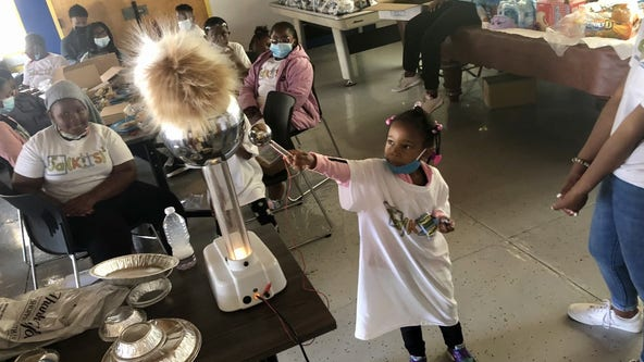 No stopping this year's Oakland Tech valedictorian as he holds free summer science camp
