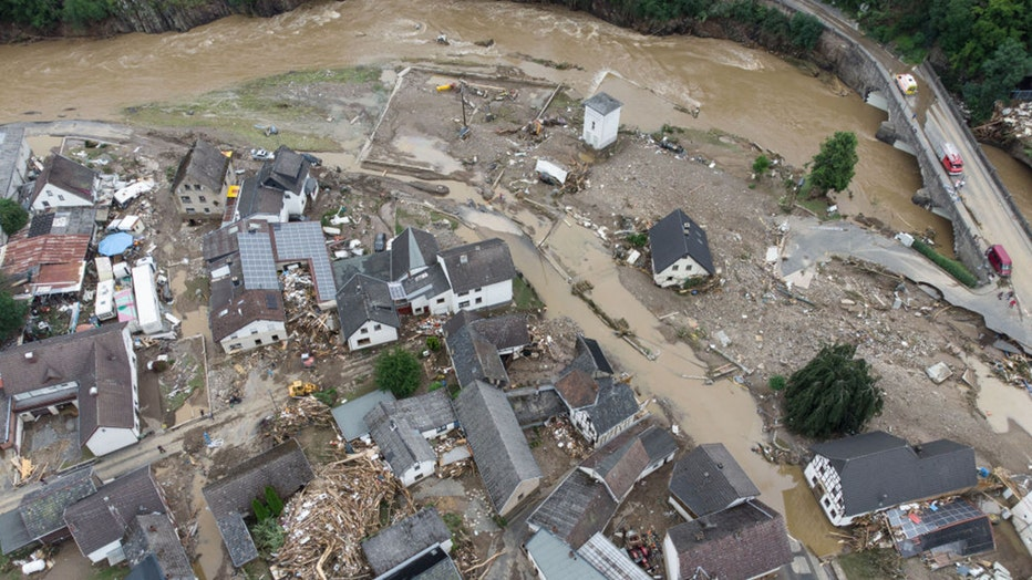 Deadly Germany flooding