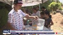 Donation drive benefits unhoused AAPI community