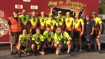 Bay Area cyclists embark on Bay to Brooklyn journey