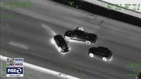 Suspects arrested after attempted carjackings, wild chase on Bay Area highways
