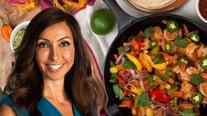 Rosemary Orozco shares quick and easy shrimp fajita recipe