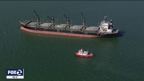 COVID outbreak among crewmembers aboard cargo ship anchored in San Francisco Bay