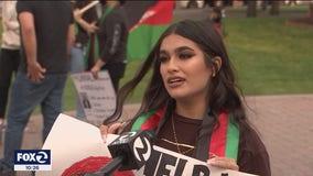 'Free Afghanistan:' community members cry at Hayward rally