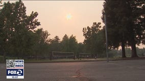 Bay Area air quality diminishes as wildfire smoke settles in