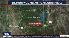 Fremont woman arrested for allegedly setting up wildfires near Lake Tahoe