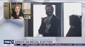 Recall candidates to try to stand out from one another in debate