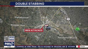 Petaluma police investigating double stabbing in downtown area