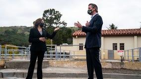 Kamala Harris cancels planned Bay Area campaign stop alongside Newsom
