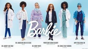 Barbie honors COVID-19 pandemic heroes with custom dolls