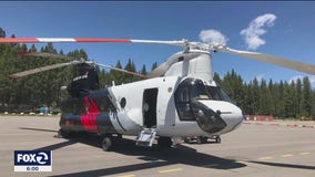 High-tech helicopters coming from SoCal to battle Caldor Fire