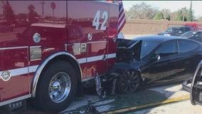 Tesla autopilot system linked to crashes with emergency vehicles: NTSB