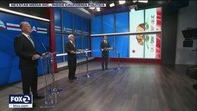 Republicans focus on Newsom, avoid Elder in third recall debate