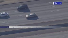 Driver in custody after leading CHP officers on high-speed pursuit on the 605, 210 Freeways