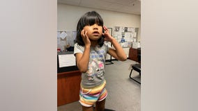 Hayward police reunite lost girl with her family