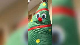 Doubts grow about inflatable Christmas tree's role in hospital's COVID outbreak