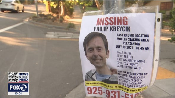 Body found near East Bay trail believed to be of missing runner Philip Kreycik