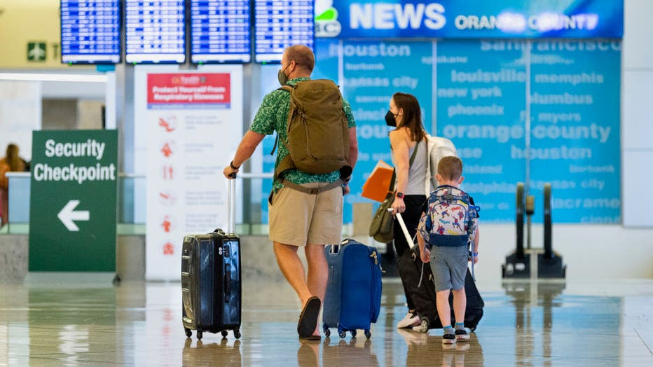 Crowds come back to airline travel