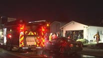 Grass fire spreads to 2 homes in Antioch