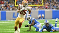 NFL Week 1: 49ers beat Lions in Detroit 41-33